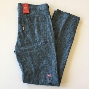 Levi's 511 Linen Blend Slim Fit Trouser Jeans
